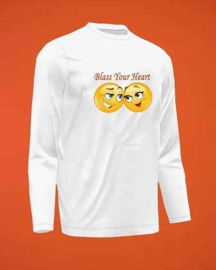 Bless Your Heart Full Sleeve T-Shirts