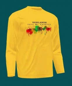 Bangladesh Full Sleeve T-Shirt
